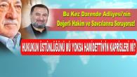 Hukukun Üstünlüğü Mü Hamidettin'in Kaprisleri Mi?