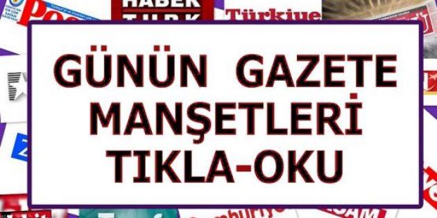 8 Mayıs 2019 Gazete Manşetleri