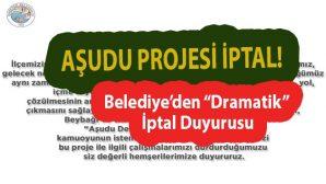 Darende Belediyesi Aşudu Projesinden Vazgeçti!