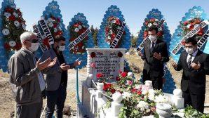 """Doğu PERİNÇEK'in Dedesi """"Köşger Bekir""""in Mezarı Yapıldı"""